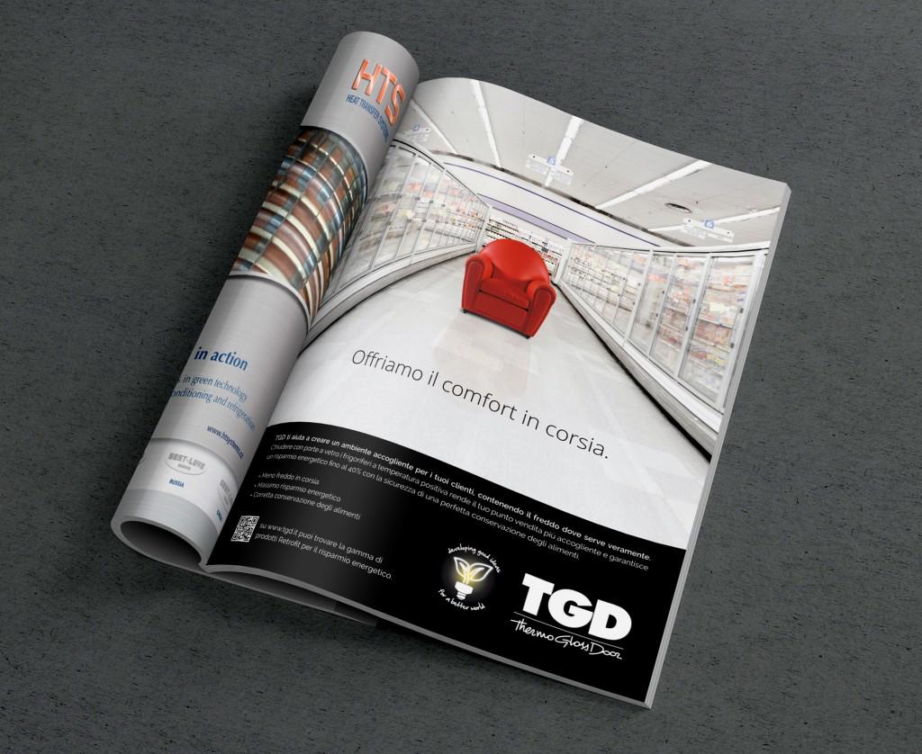TGD adv campagna stampa