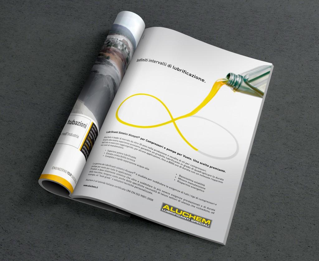 Dotis - Aluchem S.p.A: campagna pubblicitaria su rivista di settore