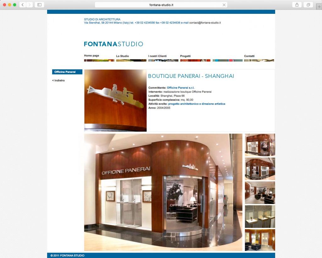 Dotis - Fontana Studio, Architettura Milano: realizzazione sito web, corporate identity