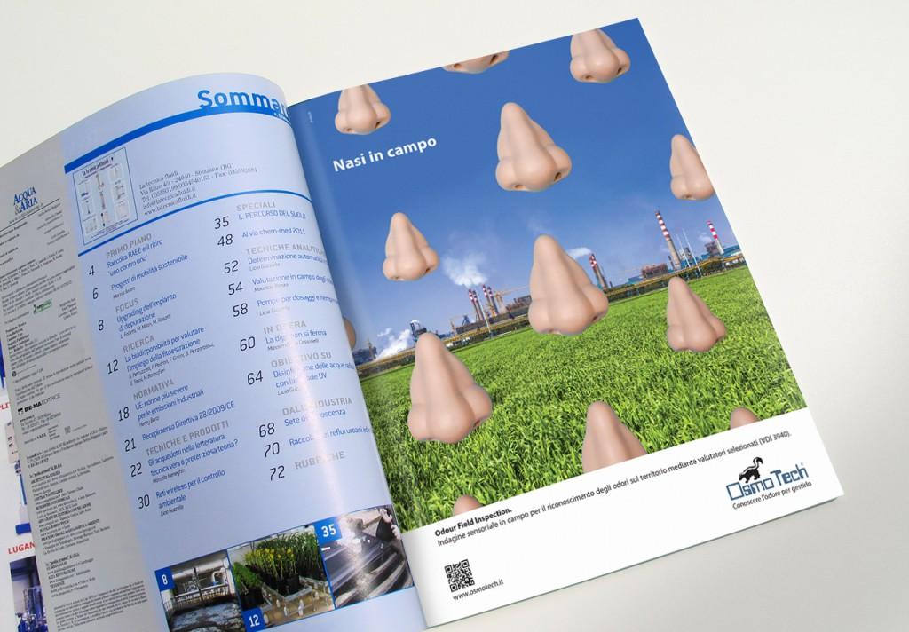 Progettazione campagna stampa su Acqua&Aria